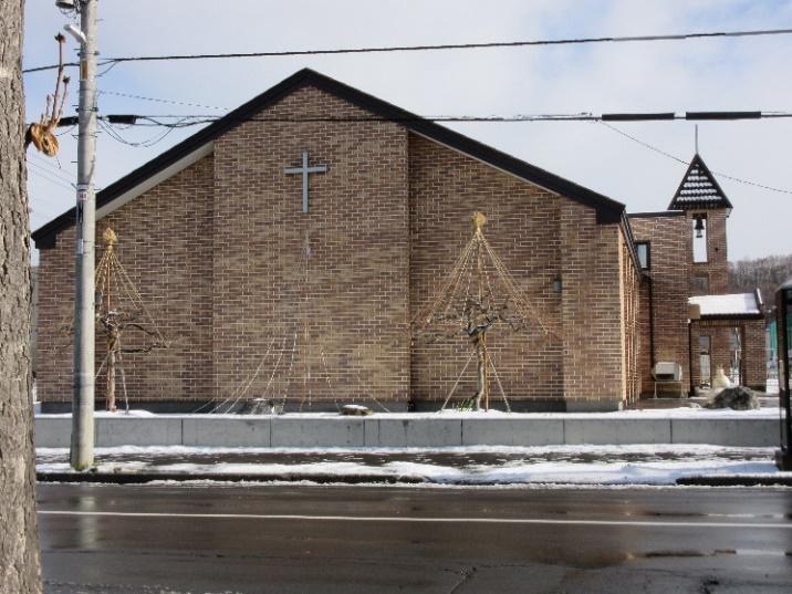 カトリック真駒内教会の写真