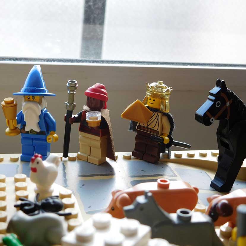 レゴで作った馬小屋2